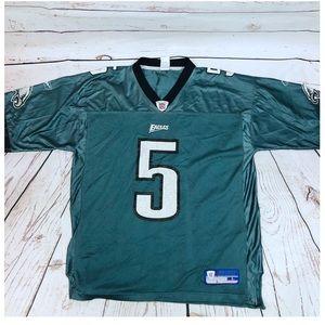 Vintage Donovan McNabb Eagles Reebok NFL Jersey